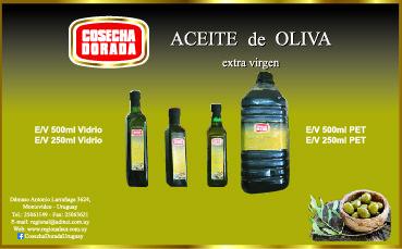 Aceite de Oliva Extra Virgen Cosecha Dorada